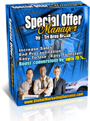 Product picture Special Offer Manager With MRR