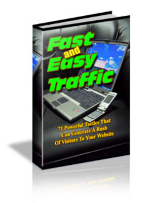 Product picture Fast And Easy Traffic