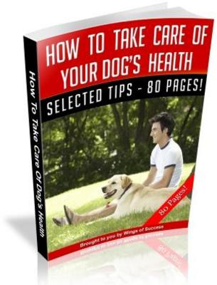 Product picture How To Take Care Of Your Dogs Health