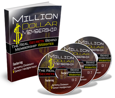 Product picture Million Dollar Membership Audio Course