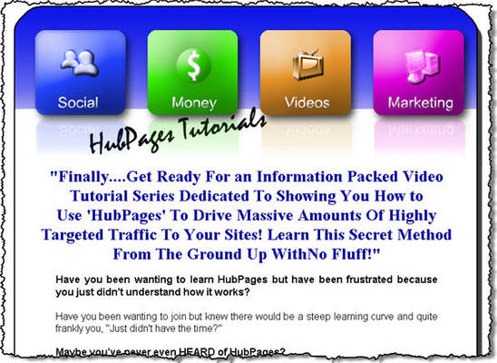 Product picture *NEW!* HubPages Tutorial Videos MRR