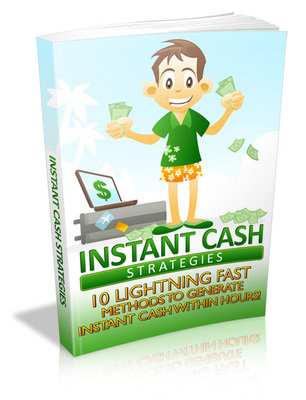 Product picture *NEW!* Instant Cash Strategies! MRR
